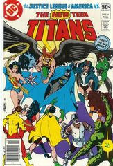 The New Teen Titans Vol. 1 4 Against All Friends