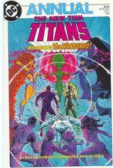 The New Teen Titans Vol. 2 Annual 1 The Vanguard