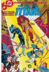 The New Teen Titans Vol. 2 14 Crisis On Infinite Earths The Light Within...The Dark Without
