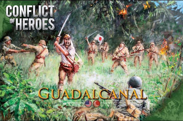 Conflict of Heroes:  Guadalcanal - Pacific Ocean 1942