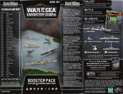 Axis & Allies War at Sea: Condition Zebra
