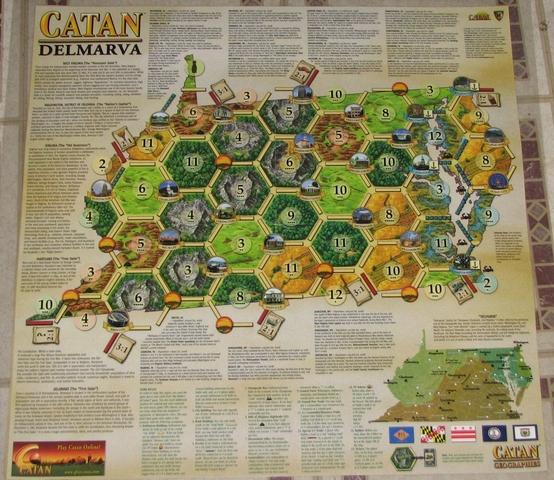 Catan Geographies: Delmarva