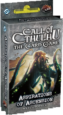 Call of Cthulhu: The Card Game - Aspirations of Ascension Asylum Pack