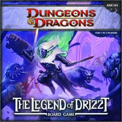 Dungeons & Dragons The Board Game - The Legend of Drizzt