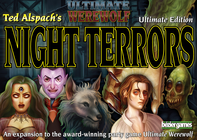 Ultimate Werewolf: Night Terrors - Board Games » Bezier
