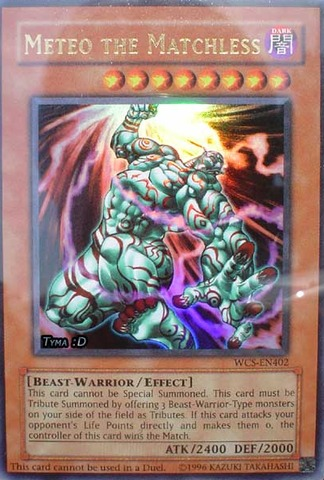Meteo the Matchless - WCS-EN402 - Ultra Rare