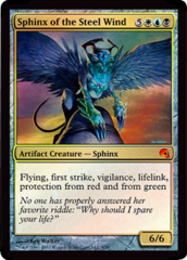 Sphinx of the Steel Wind - Foil on Channel Fireball