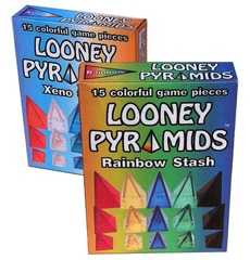 Looney Pyramids - Rainbow Stash