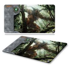 Mana v3 Green Primeval Titan Play Mat for Magic