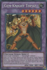 Gem-Knight Topaz - HA05-EN021 - Secret Rare - 1st Edition