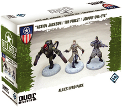 Dust Tactics: Allies Hero Pack -