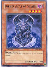 Barrier Statue of the Abyss - CDIP-EN018 - Common - 1st Edition