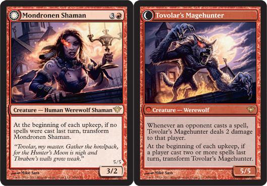 Mondronen Shaman // Tovolar's Magehunter - Foil - Magic