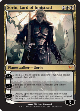 Sorin, Lord of Innistrad - Foil