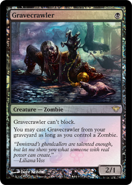 Gravecrawler - Dark Ascension Foil