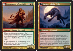 Huntmaster of the Fells // Ravager of the Fells on Channel Fireball