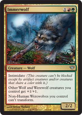 Immerwolf - Foil