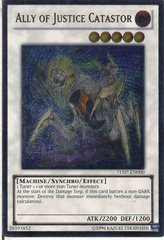 Ally of Justice Catastor - TU07-EN000 - Ultimate Rare - Promo Edition