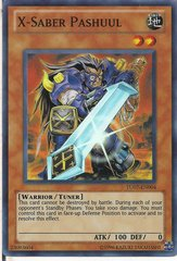 X-Saber Pashuul - TU07-EN004 - Super Rare - Unlimited Edition