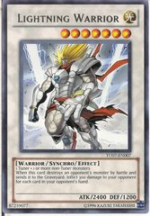 Lightning Warrior - TU07-EN007 - Rare - Unlimited Edition