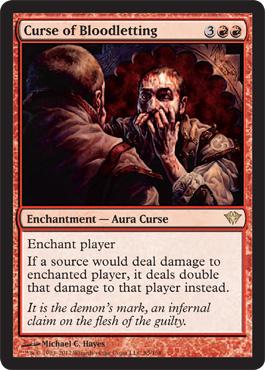 Curse of Bloodletting - Foil