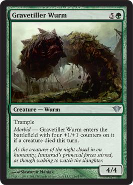 Gravetiller Wurm - Foil