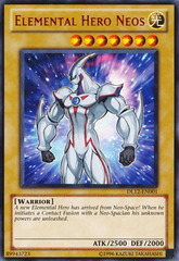 Elemental Hero Neos - Red - DL12-EN001 - Rare - Unlimited Edition