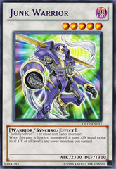 Junk Warrior - Purple - DL12-EN012 - Rare - Promo Edition on Channel Fireball