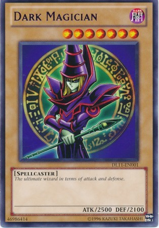 Dark Magician - Purple - DL11-EN001 - Rare - Promo Edition