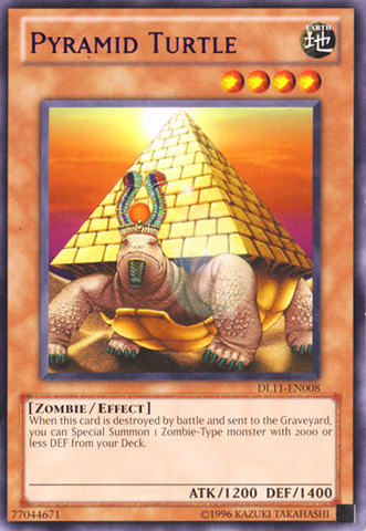 Pyramid Turtle - Purple - DL11-EN008 - Rare - Unlimited Edition