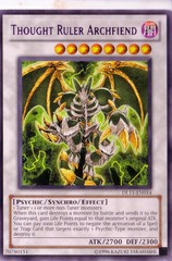 Thought Ruler Archfiend - Purple - DL11-EN014 - Rare - Unlimited Edition on Channel Fireball