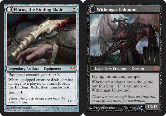 Elbrus, the Binding Blade // Withengar Unbound - Foil