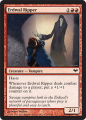 Erdwal Ripper - Foil on Channel Fireball