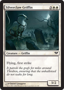 Silverclaw Griffin - Foil