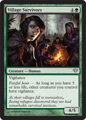 Village Survivors - Foil