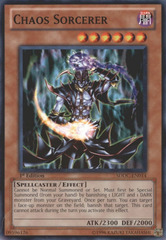 Chaos Sorcerer - SDDC-EN014 - Common - 1st Edition