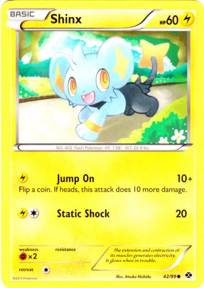 Shinx - 42/99 - Common