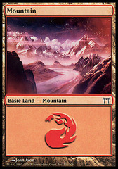 Mountain (301) - Foil on Channel Fireball