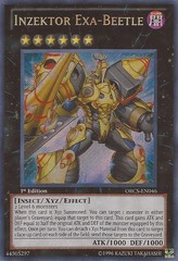 Inzektor Exa-Beetle - ORCS-EN046 - Secret Rare - Unlimited Edition