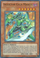 Inzektor Giga-Mantis - ORCS-EN021 - Ultra Rare - Unlimited Edition