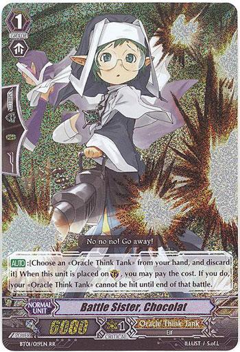 Battle Sister, Chocolat - BT01/019EN - RR