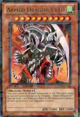 Armed Dragon LV10 - DT05-EN058 - Rare Parallel Rare - Duel Terminal on Channel Fireball