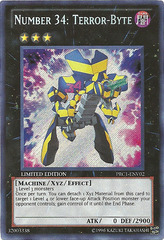Number 34: Terror-Byte - PRC1-ENV02 - Secret Rare - Limited Edition