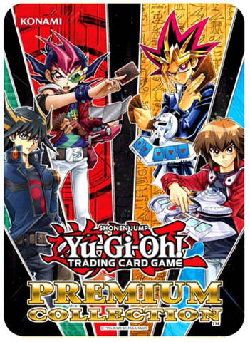 Yu-Gi-Oh 2012 Premium Collection Tin