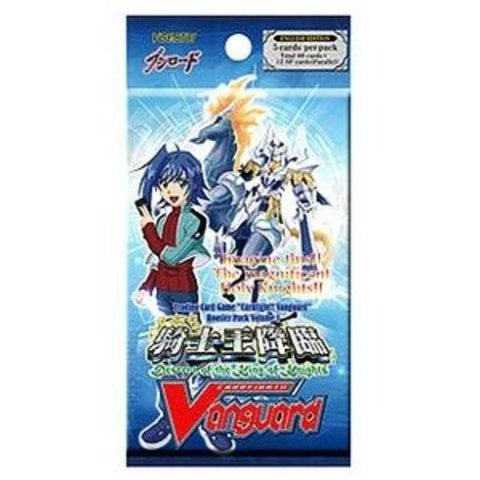 Cardfight!! Vanguard VGE-BT01 Descent of the King of Knights Booster Pack