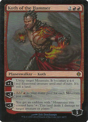 Koth of the Hammer - Foil on Channel Fireball