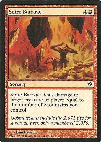 Spire Barrage