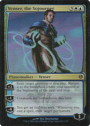 Venser, the Sojourner
