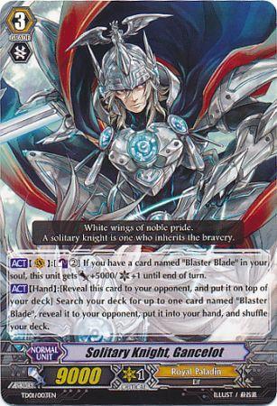 Solitary Knight, Gancelot - TD01/003EN