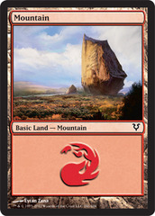 Mountain (241) - Foil on Channel Fireball